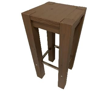 Ikea Wooden Bar Stools
