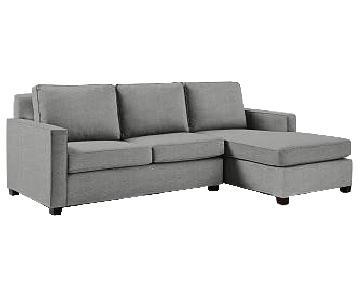 West Elm Henry Sleeper Sectional Sofa