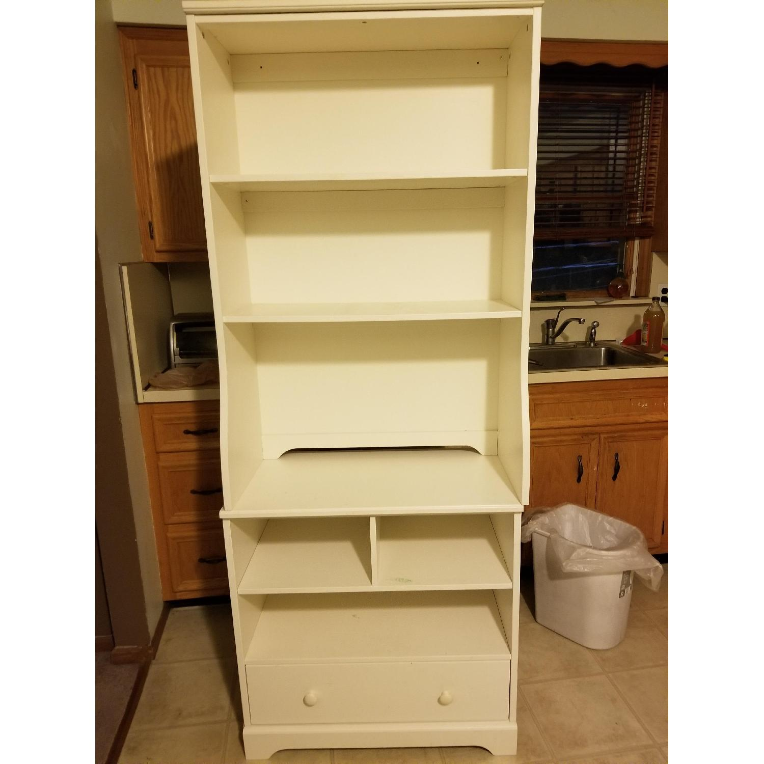 Pottery Barn Bookcases w/ Drawer