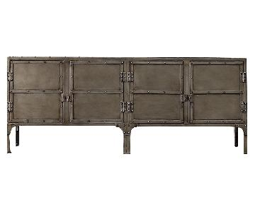 Restoration Hardware Industrial Tool Chest Sideboard