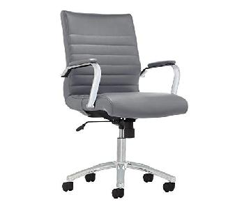 Realspace Bonded Leather Office Chair