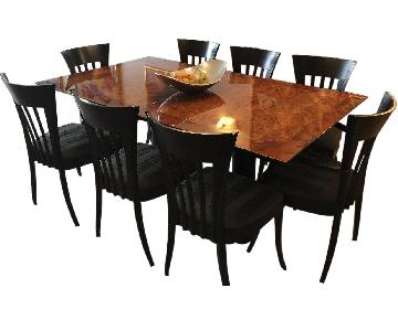 Miniforms Italian Dining Table w/ 8 Chairs
