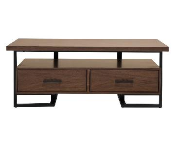 Raymour & Flanigan Wood Cocktail Table
