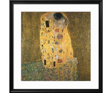 Gustav Klimt The Kiss Giclee Framed Print