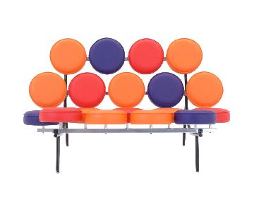 George Nelson Limited Edition Multicolor Marshmallow Sofa