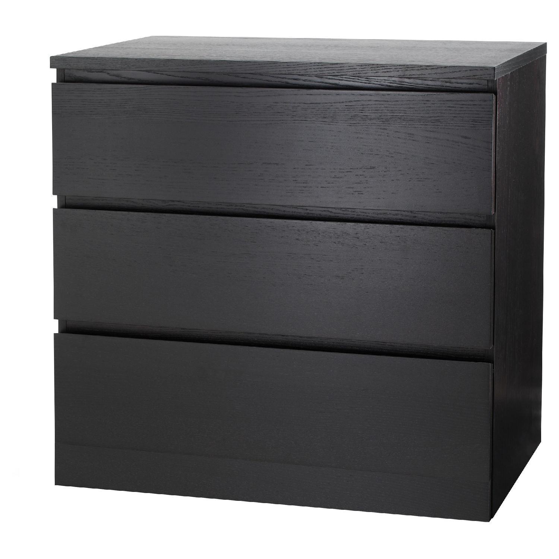Ikea Malm 3 Drawer Dresser