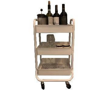 Target Metal Small Bar Cart