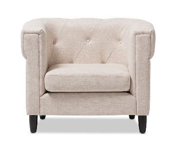 Baxton Studio Cortland Accent Chair