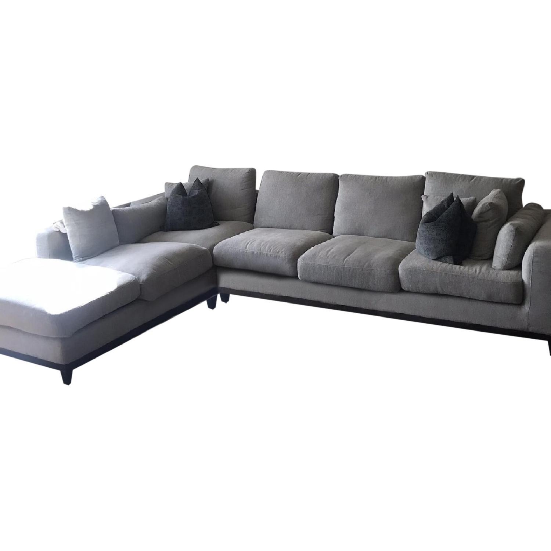 Article Nova Gray Chaise Sectional Sofa