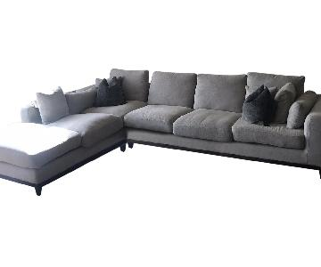 Article Nova Gray Chaise Sectional Sofa