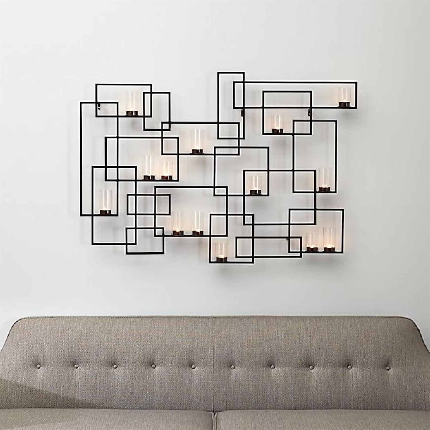 Crate & Barrel Wall Candle Holder-0