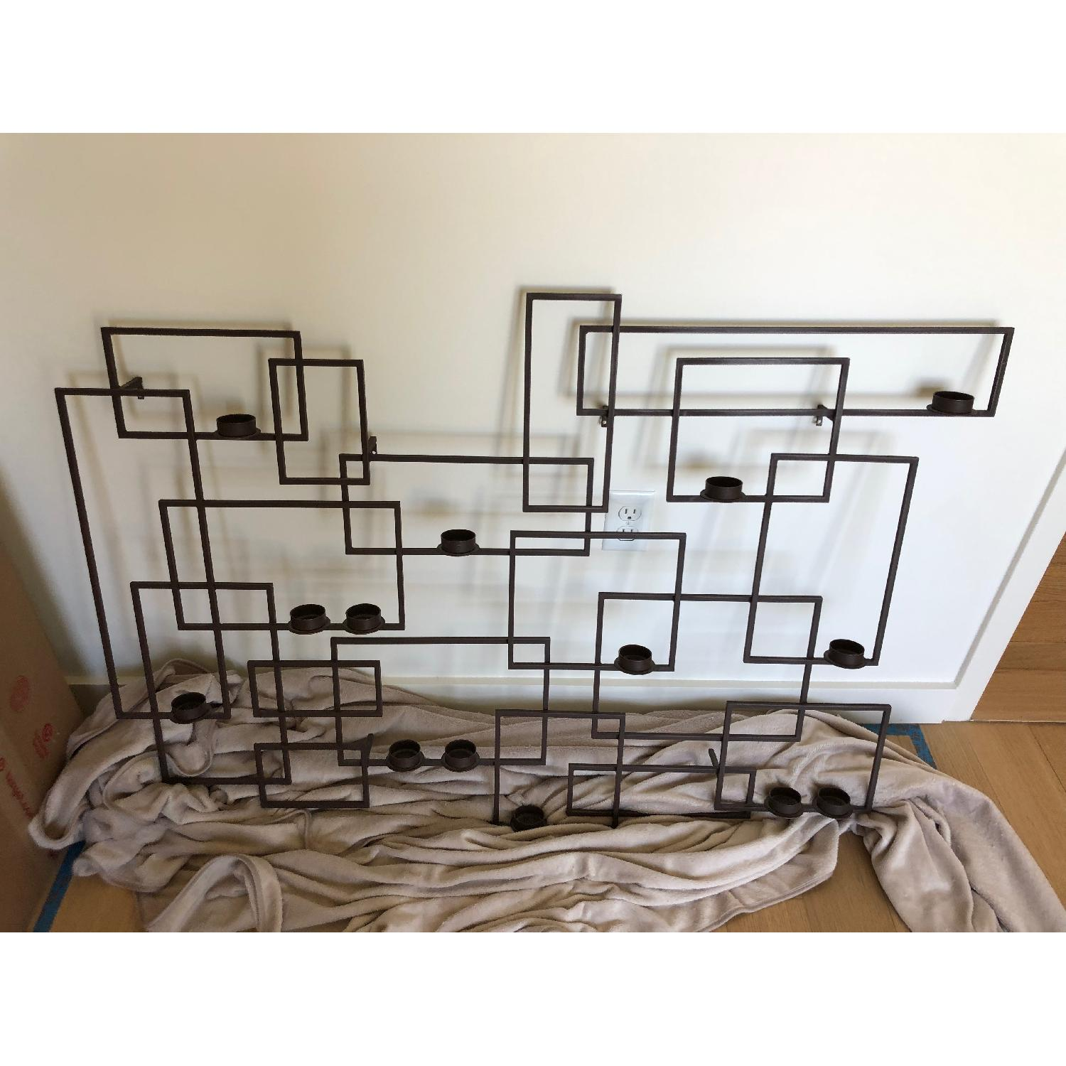 Crate & Barrel Wall Candle Holder-1
