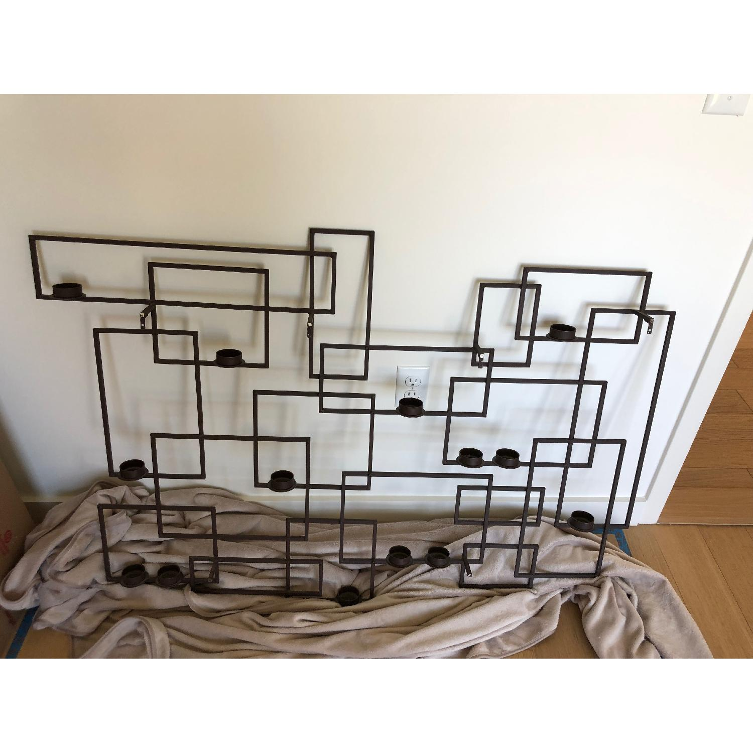 Crate & Barrel Wall Candle Holder-2