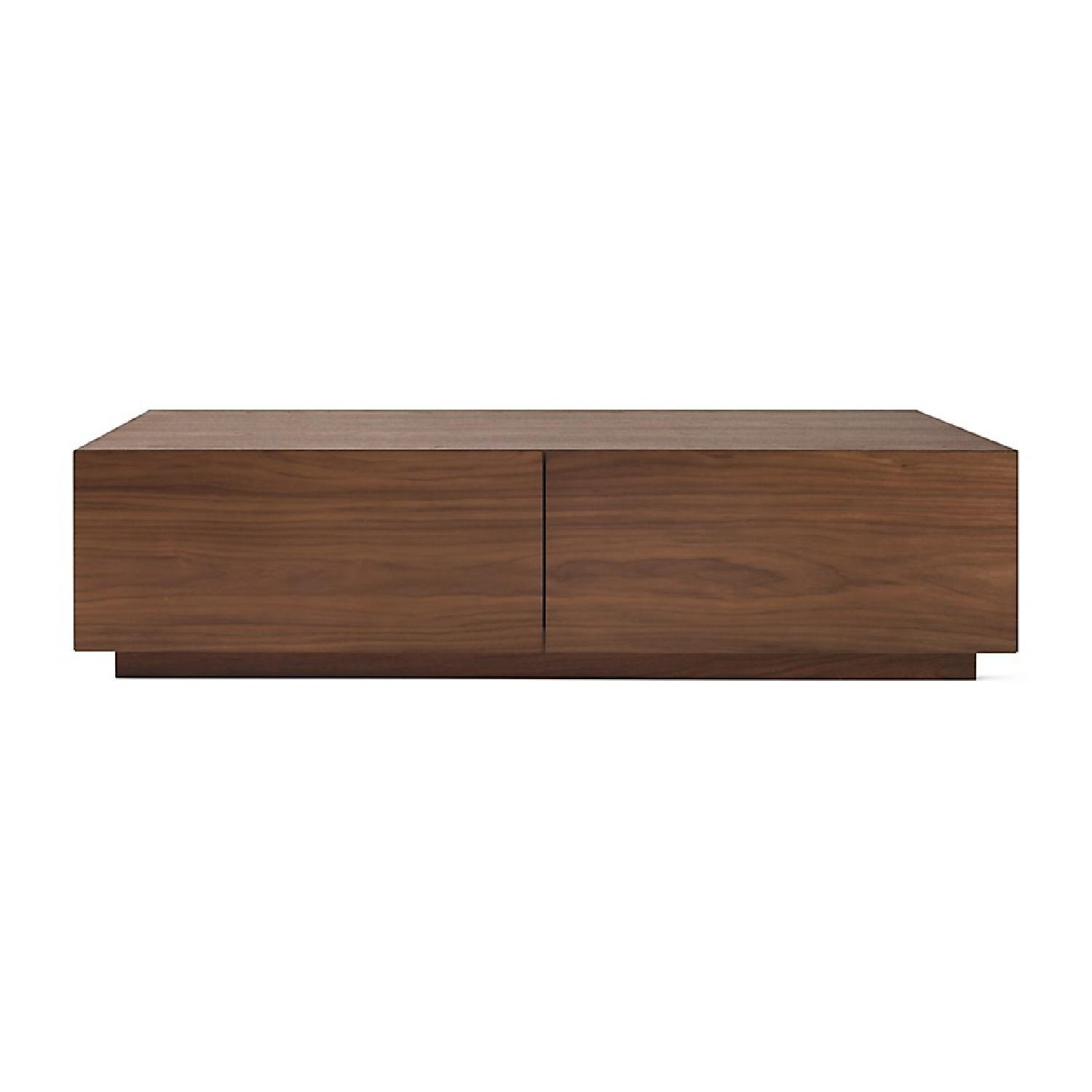 Design Within Reach Walnut Coffee Table