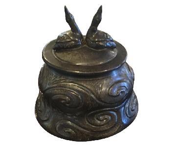 Ceramic Sculpted Jar/Vase