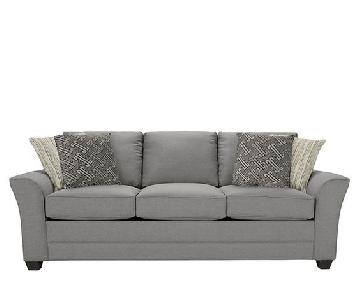 Raymour & Flanigan Kelton Silver Queen Sleeper Sofa