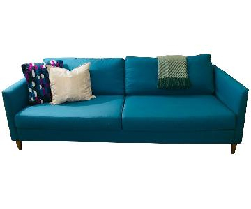 BoConcept Indivi 2 Sofa in Dark Teal