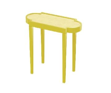 Oomph Yellow End Table