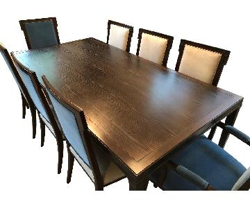 Hickory Chair Co. Hutton 9 Piece Dining Set