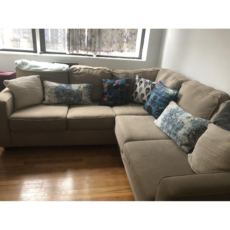 West Elm Henry 3-Piece L-Shaped Sectional Sofa - AptDeco