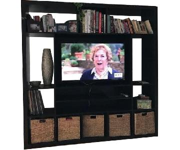 Ikea Expedit Media/TV Stand w/ Baskets