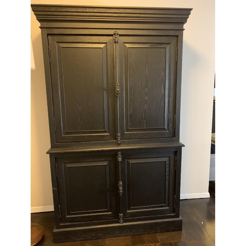 Restoration Hardware Double Door Sideboard w/ Hutch-1