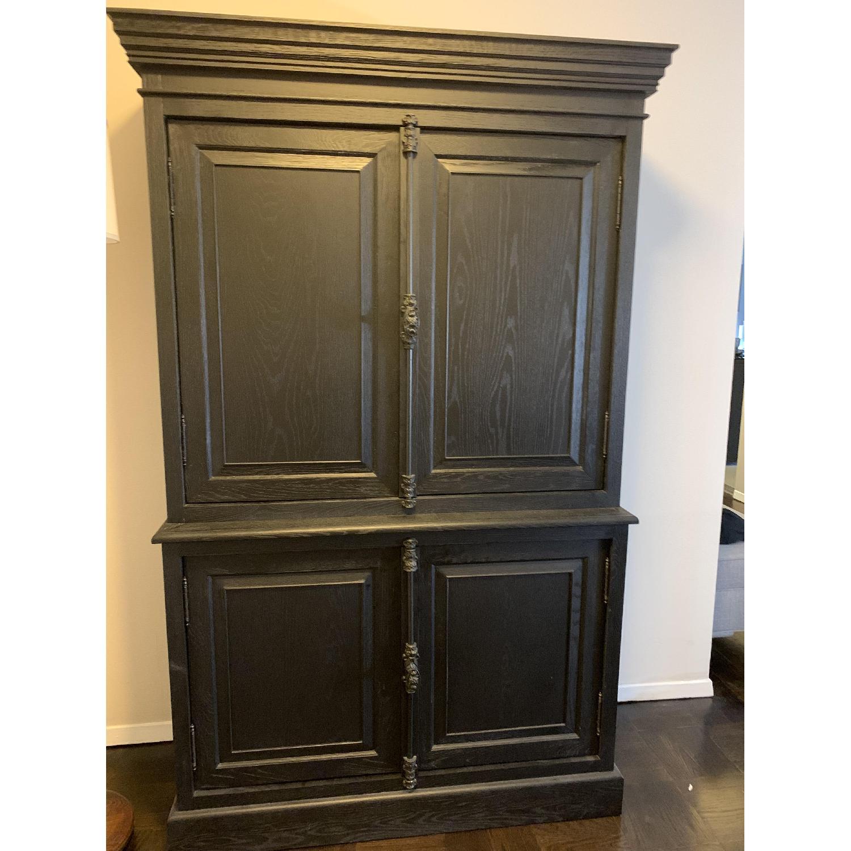 Restoration Hardware Double Door Sideboard w/ Hutch-3