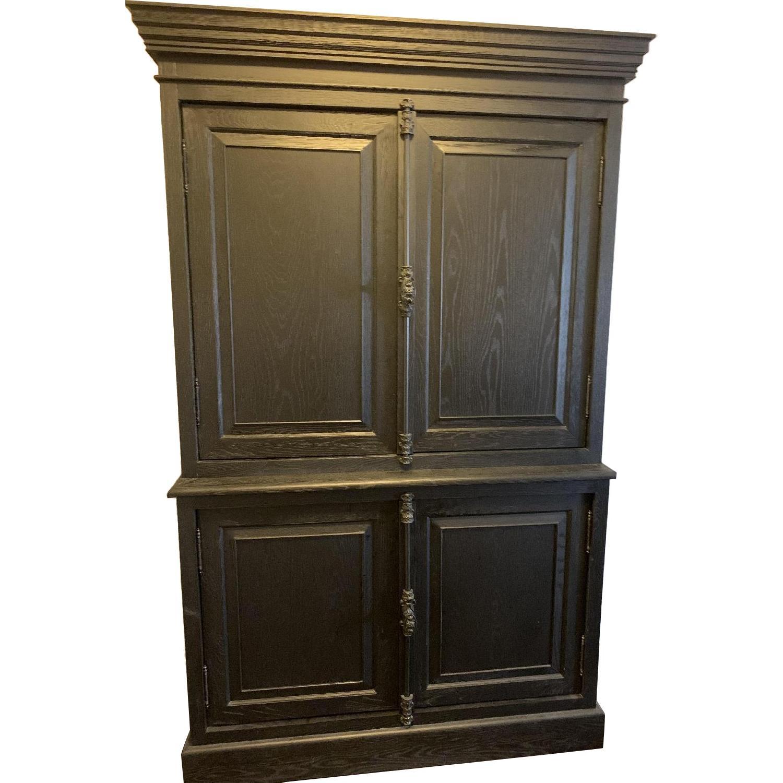 Restoration Hardware Double Door Sideboard w/ Hutch