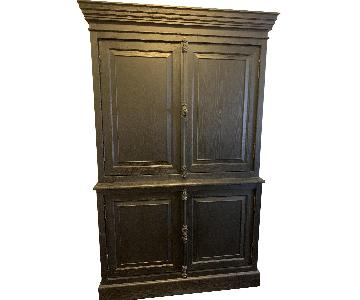 Restoration Hardware Double Door Sideboard w/ Hutch
