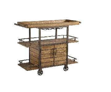 Ink+Ivy Vintage Bar Cart