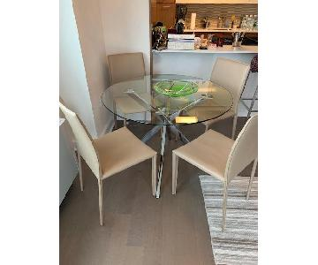Modern 5 Piece Dining Set