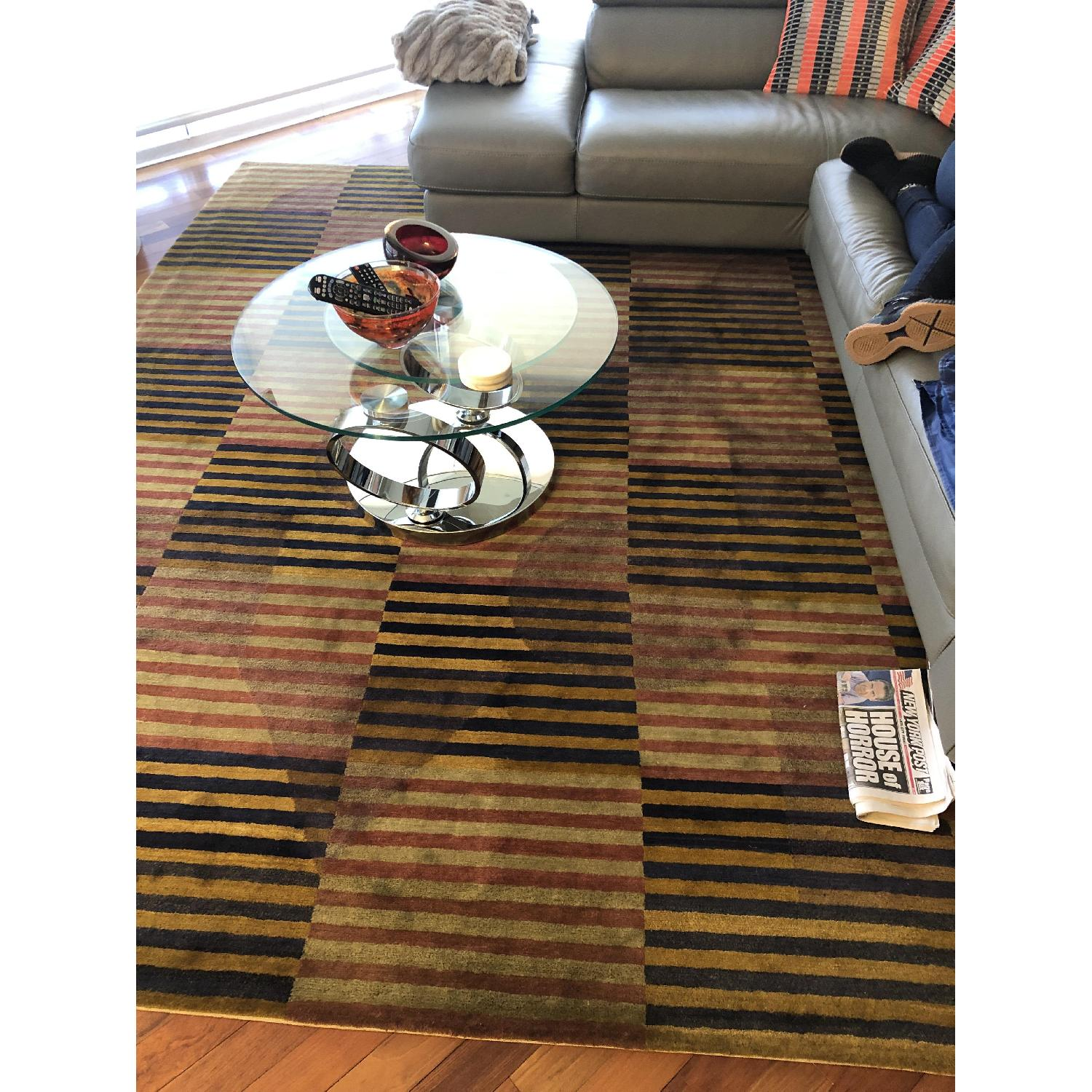 Roche Bobois Tufenkian Hand Knotted Area Rug-1
