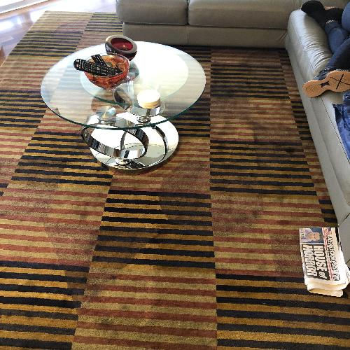 Roche Bobois Tufenkian Hand Knotted Area Rug