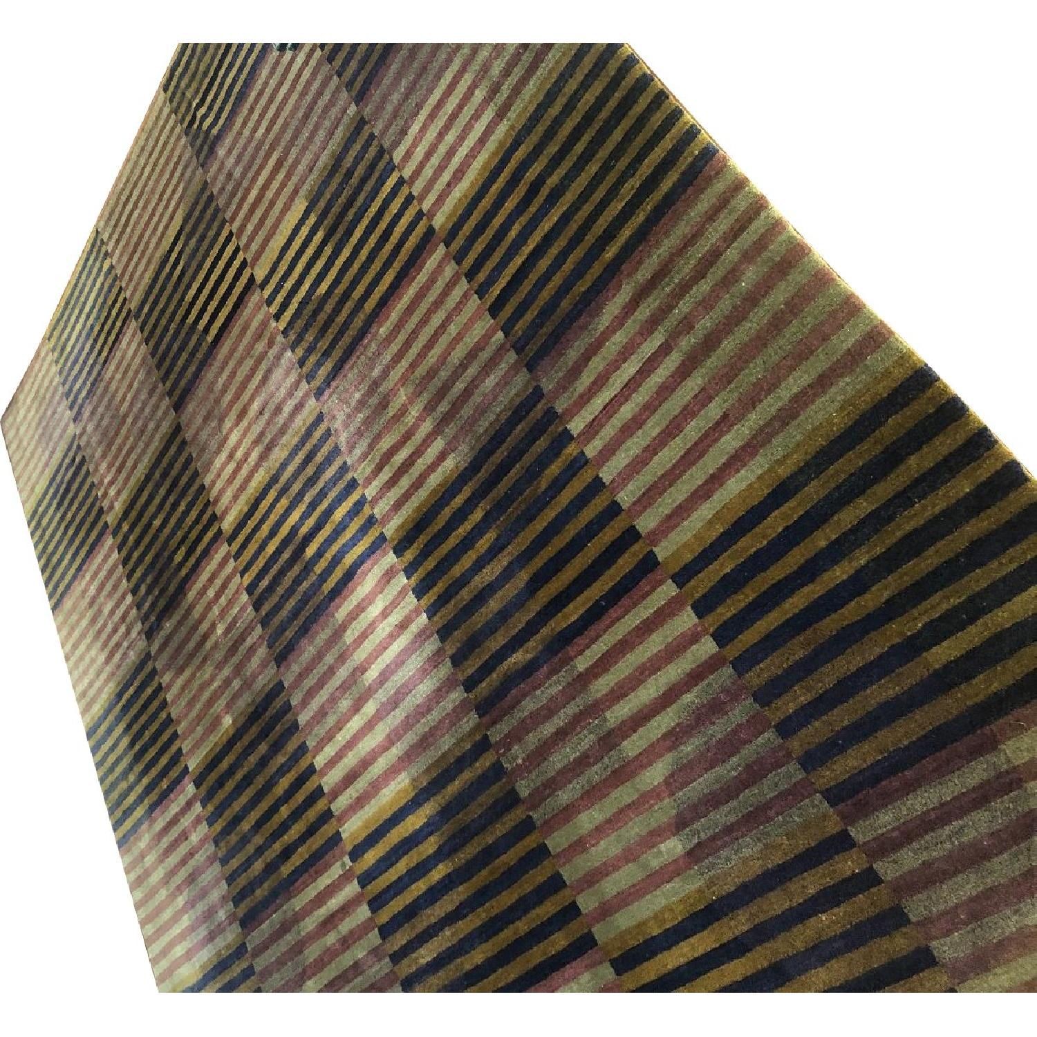 Roche Bobois Tufenkian Hand Knotted Area Rug - image-0