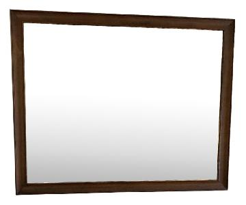 Villageois Wood Mirror