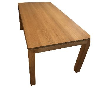 ABC Carpet and Home Oak Dining Table