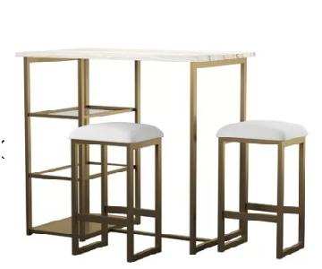 Mercury Row Denham 3 Piece Pub Table Set