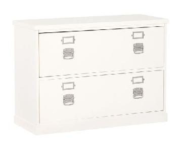 Pottery Barn Bedford 2-Drawer File Cabinet