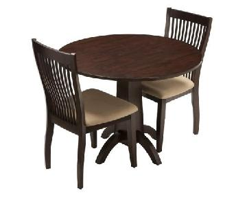 Raymour & Flanigan Nevada Dining Table w/ 2 Chairs