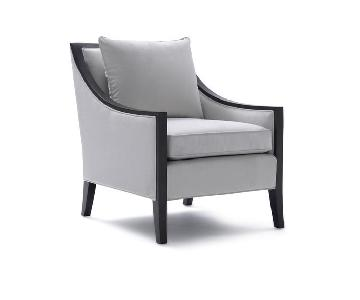 Mitchell Gold + Bob Williams Ariana Chair in Korby-Pewter