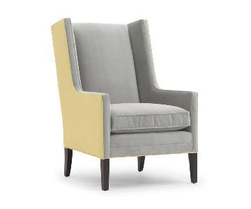 Mitchell Gold + Bob Williams Vivianne Avignon-Pewter Chair