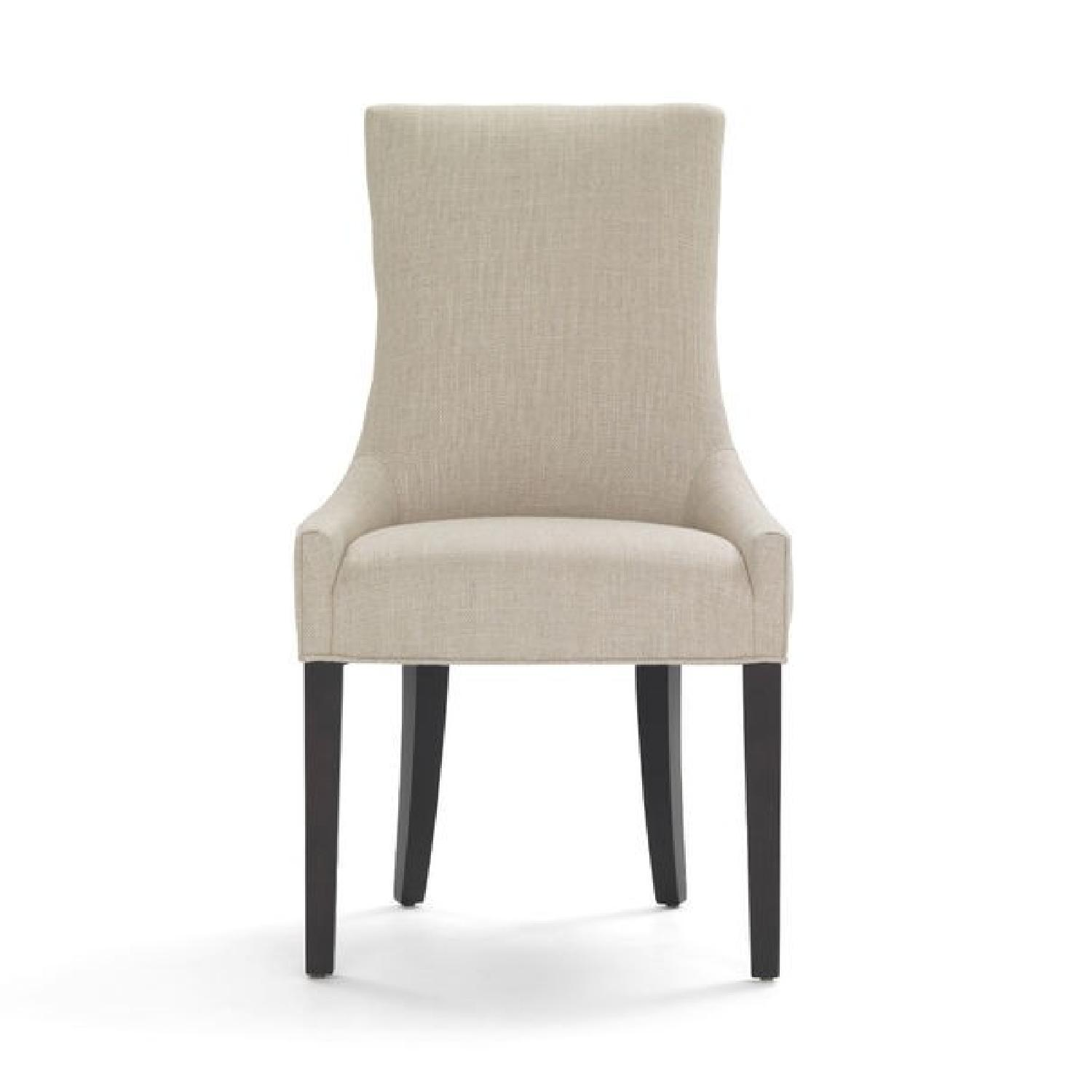 Mitchell Gold + Bob Williams Ada Side Chair in Vivid-Silver
