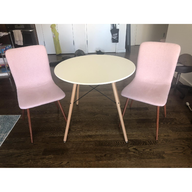 Incredible Coavas Round Dining Table Aptdeco Short Links Chair Design For Home Short Linksinfo