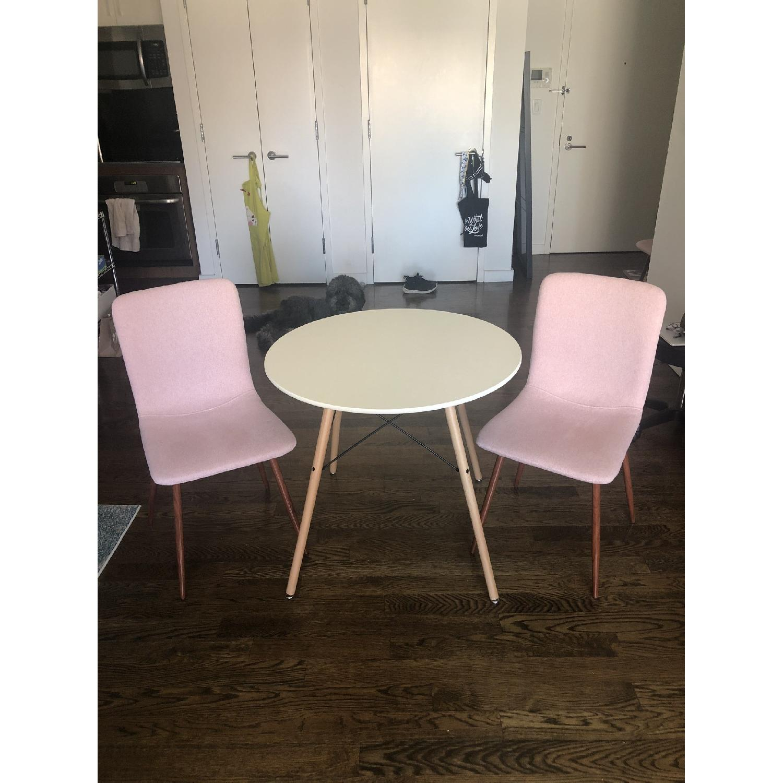 Astounding Coavas Round Dining Table Aptdeco Short Links Chair Design For Home Short Linksinfo