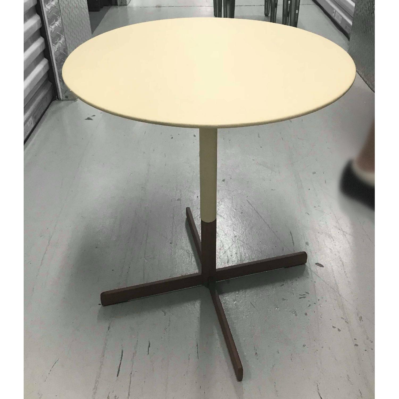 Poltrona Frau Bob Leather Top Coffee Table-0