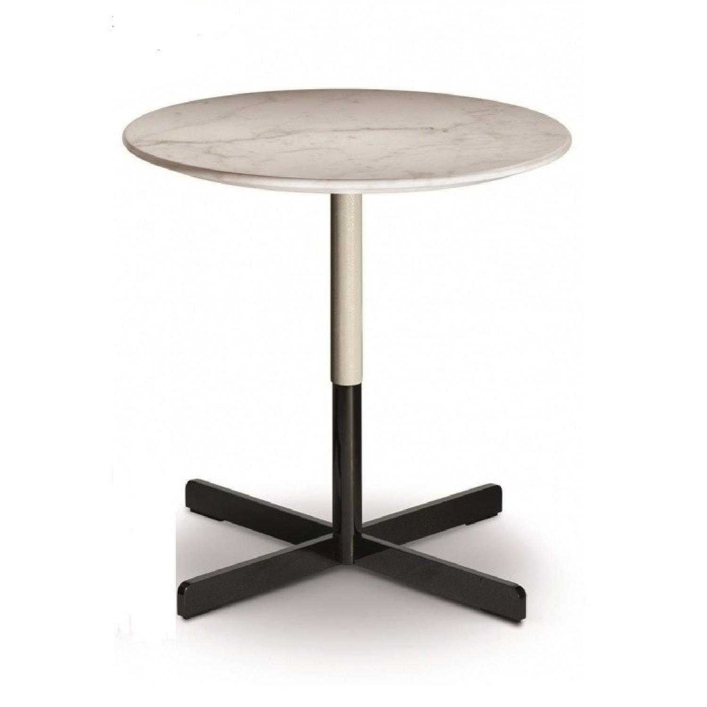 Poltrona Frau Bob Leather Top Coffee Table