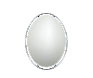 Quoizel Ritz Series Mirror in Chrome