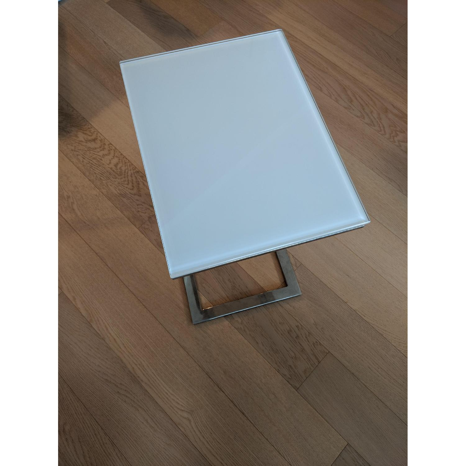 Modani Khloe White Side Tables-2