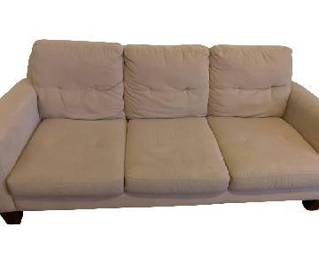 Jennifer Convertibles Beige Sofa