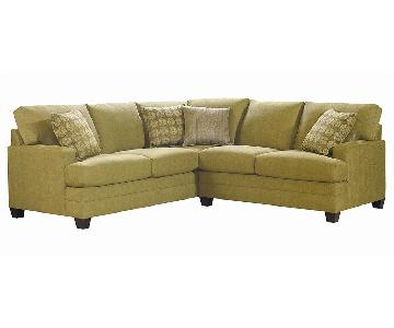 Bassett L-Shaped 2-Piece Sectional Sofa